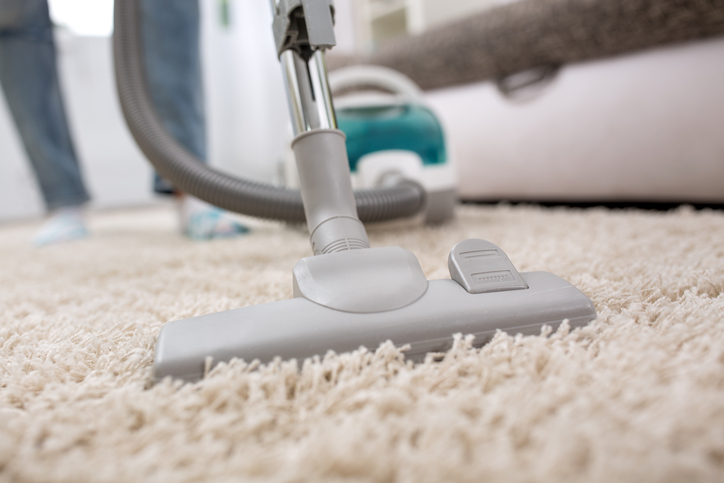vacuum cleaner at home for carpeting